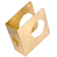 4-1/2-Inch Brass Door Reinforcer