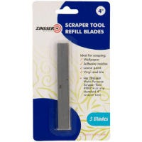 Scraper Tool Replacement Blades, Multi-Purpose, 4-In.