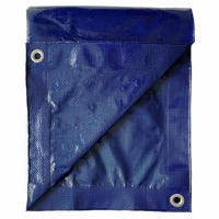 Paint/Storage Tarp, Blue Polyethylene, 10 x 12-Ft.