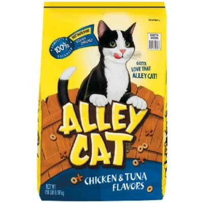 Image of Dry Cat Food, Chicken & Tuna, 13.3-Lbs.