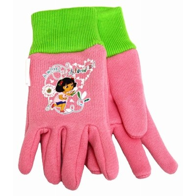 Image of Kids' Dora The Explorer Cotton Jersey Gloves