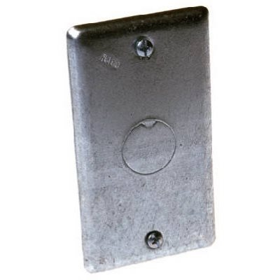 Image of Blank 1/2-Inch Knockout Handy Box Cover