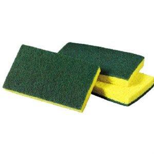 Scrubbing Sponge, Medium-Duty, 6.1 x 3.6-In.