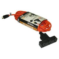 100-Ft. Outdoor Orange Extension Cord