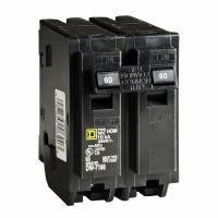 Homeline 60-Amp Double-Pole Circuit Breaker