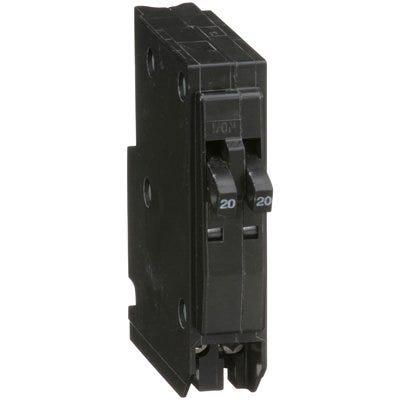 QO 20-Amp Single-Pole Tandem Circuit Breaker