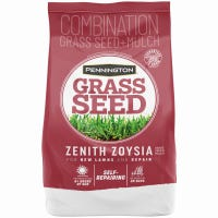 Zenith Zoysia Grass Seed and Mulch, 5-Lbs.