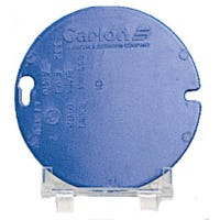 4-Inch Round Blank Box Cover