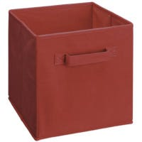 Cubeicals Woven Fabric Drawer, Red