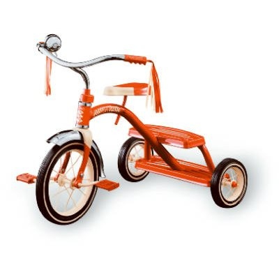Image of 12-Inch Classic Red Tricycle