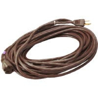 Outdoor Extension Cord, 16/3 SJTW, Brown, 40-Ft.