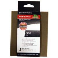 Premium Sanding Pad, 180-Grit, 4.5 x 5.5-In., 3-Pk.