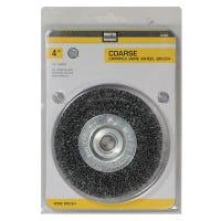 4-Inch Coarse Crimped Wire Wheel