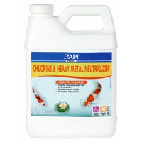 Chlorine & Heavy Metal Pond Water Neutralizer, 32-oz.