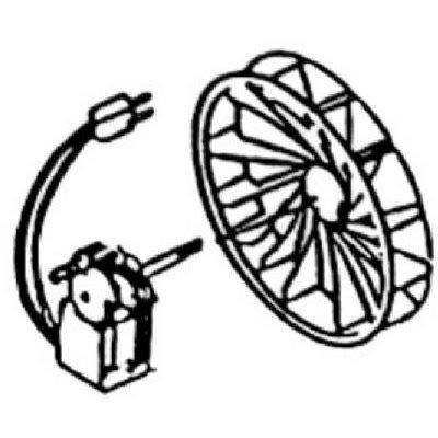 Image of Bathroom Fan Motor & Blower Wheel