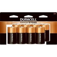 Alkaline Batteries, D, 8-Pk.
