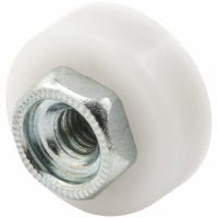 Tub Enclosure Sliding Shower Door Roller, 5/8-In. Ball Bearing, 2-Pk.