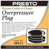 Pressure Cooker Over-Pressure Plug
