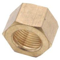 Brass Compression Nut, Lead-Free, 7/8-In.