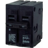 Circuit Breaker, Double Pole, 120/240-Volt, 30-Amp