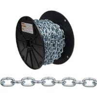 #4 Straight Link Chain, 100-Ft.