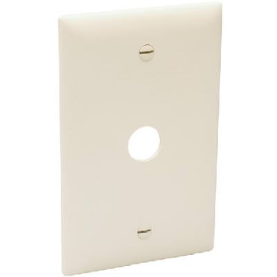 Image of Wall Plate, Telephone/Cable-Outlet, Ivory Thermoplastic