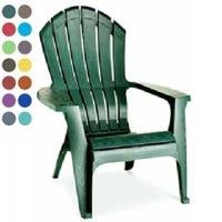 Adams RealComfort Resin Adirondack Chairs, 15 Colors