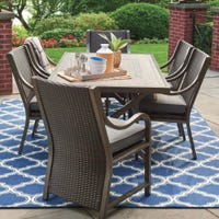 Canmore Aluminum Patio Dining Set