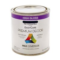 Premium Decor Royal Blue Gloss Enamel Paint, 1/2-Pt.