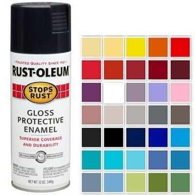 Rust-Oleum Stops Rust Spray Paint, 12-oz.