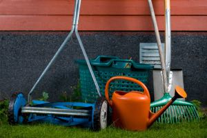 Learn how to store lawn and garden tools for winter